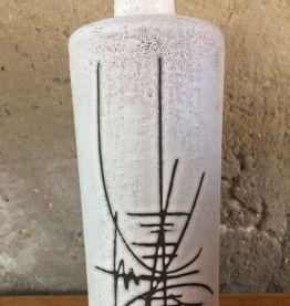 Bouteille est céramique Vallauris vintage
