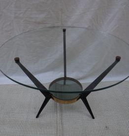 Table basse Angelo Ostuni années 50