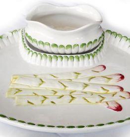 Service à asperges italien