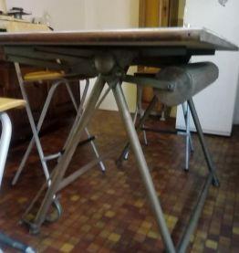 ancienne table d'architecte