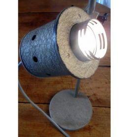 Paire de lampes industrielles Nachet années 50