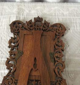 Cadre lyre en bois ou porte photo.