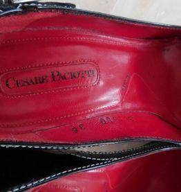 Escarpins Cesare Paciotti cuir noir