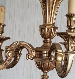 Lustre bronze véritable