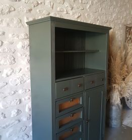 commode buffet parisien armoire enfilade vintage