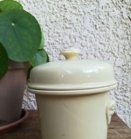 Pot ancien en faïence Simplex