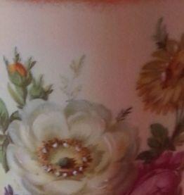 Mazagran en porcelaine d'art