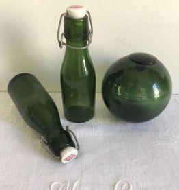 Paire de petites bouteilles BULACH