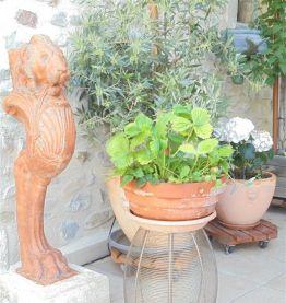 Porte plante / tabouret