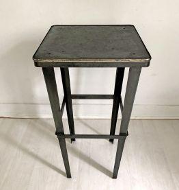 Table d'appoint industriel vintage 50's