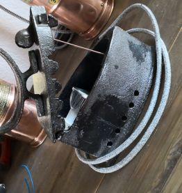 LAMPE FER A REPASSER