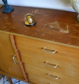 commode année 50-60