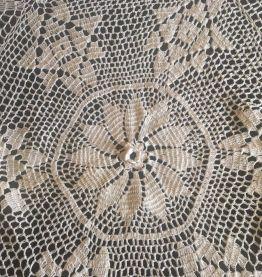 Nappe ronde crochet