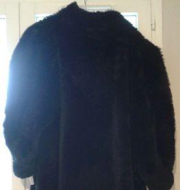 Manteau femme fourrure synthétique vintage