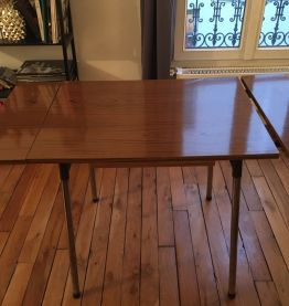 Table formica 60's + rallonges