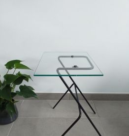 Table basse d'appoint moderniste vintage années 50