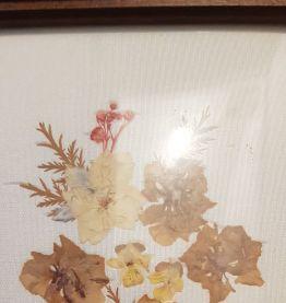 Cadre à fleur sèchées