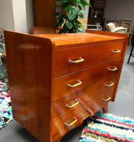 Commode vintage art deco 1960's
