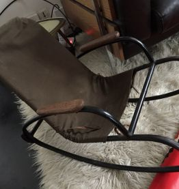 Rocking Chair Tubulaire du Bauhaus 1930s