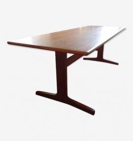 Table basse scandinave par K-E Ekselius