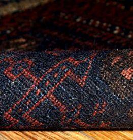 Tapis ancien Afghan Baluch sac visage fait main, 1B340