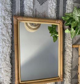 Miroir Rotin