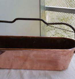 Jardinière en cuivre