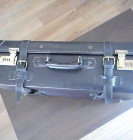 valise en cuir