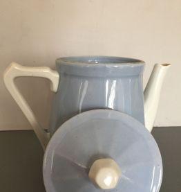 Cafetière / théière bleue, années 50