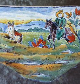 Commode miniature faïence de st Clément