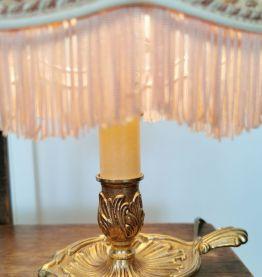Lampe à poser en bronze