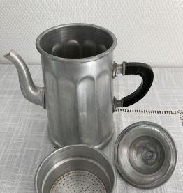 Cafetière aluminium