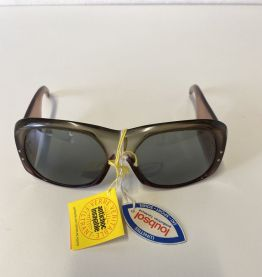 Lunettes de soleil vintage femme années 70 neuves marque Lou