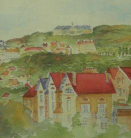 Petite aquarelle de Meudon (années 80)