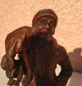 Statue pêcheurs breton