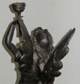 Statue régule de Francois Mage ( XIXè siécle)