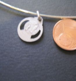collier médaille vierge