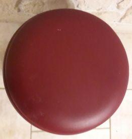 Travailleuse ronde boîte à couture sur 4 pieds