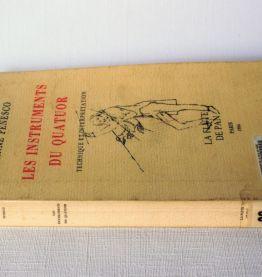 A Penesco : instruments quatuor technique et interprétation