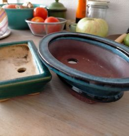Pots à plants céramique années 30