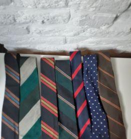 Cravates vintage.