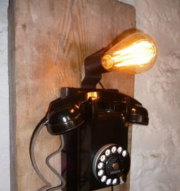 LAMPE APPLIQUE - TELEPHONE MURAL