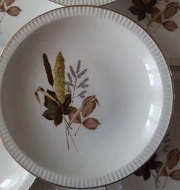 6 assiettes creuses SARREGUEMINES Juliette