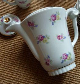 service à café en porcelaine de Limoges ULIM années 60