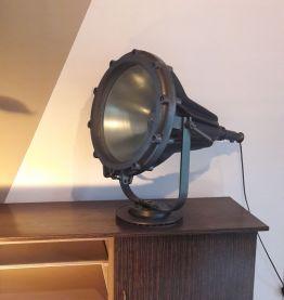 Ancien gros projecteur Mapelec annee 60