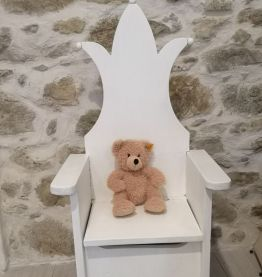 Petit fauteuil bois