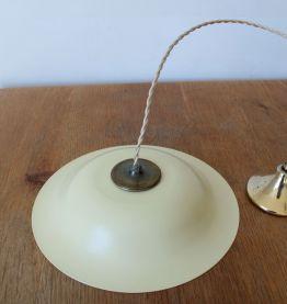 Suspension luminaire années 60