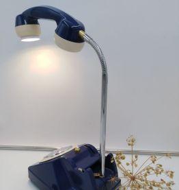 Lampe telephone et horloge