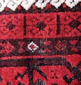 Tapis ancien Afghan Baluch fait main, 1P48