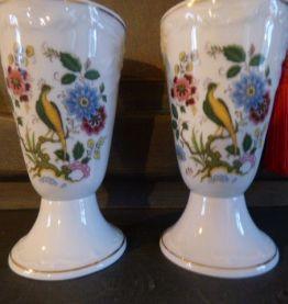 Deux Mazagrans Porcelaine